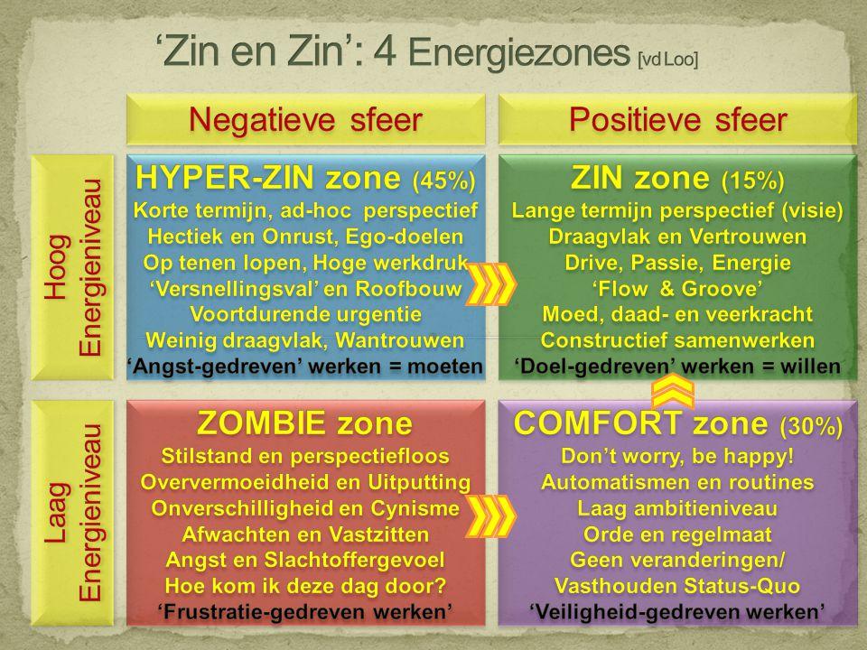 'Zin en Zin': 4 Energiezones [vd Loo]